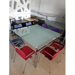 Glazen vergadertafel - Bureaus en Tafels