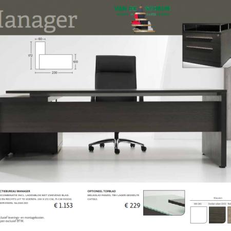 Bureaus en Tafels - Manager Bureau